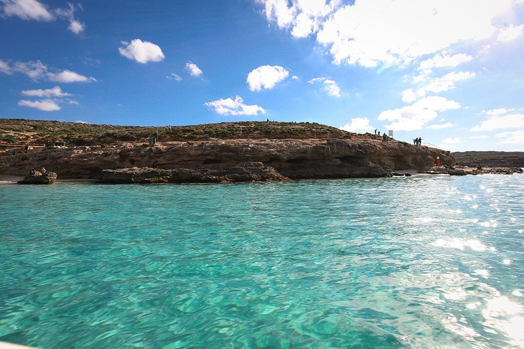 Comino Island water