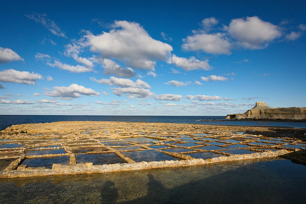 Gozo Salt Flats, Malta