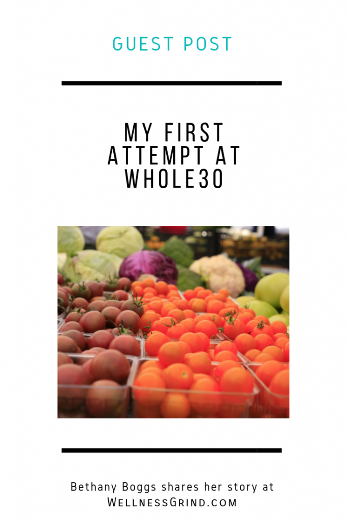 Bethany Boggs shares her experience with the Whole30 diet.