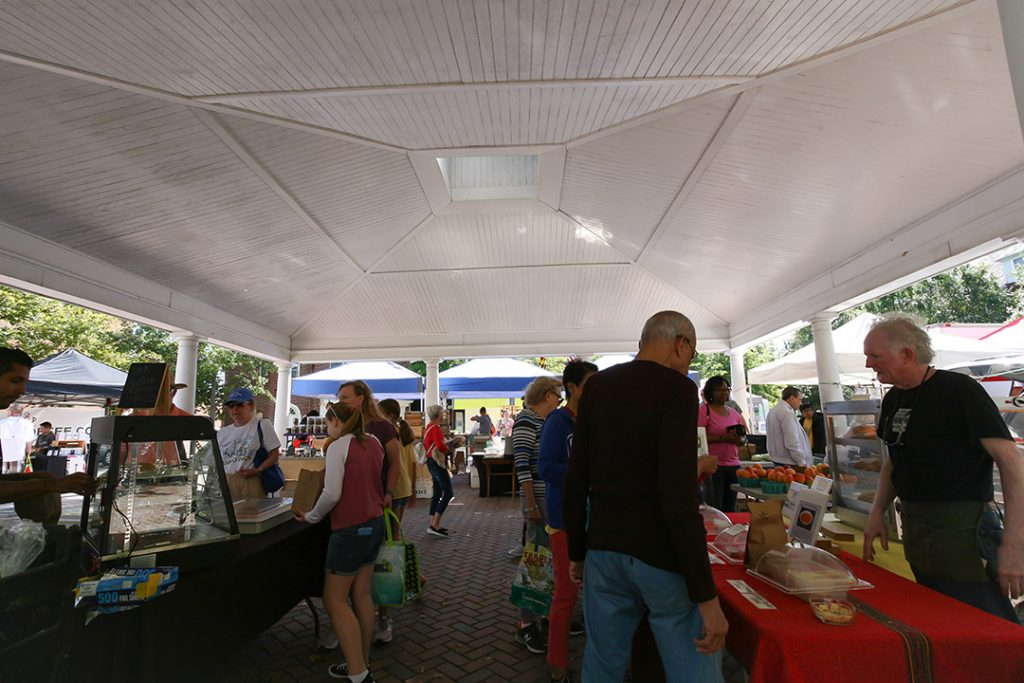 Kentlands Main Street Market Pavillion.