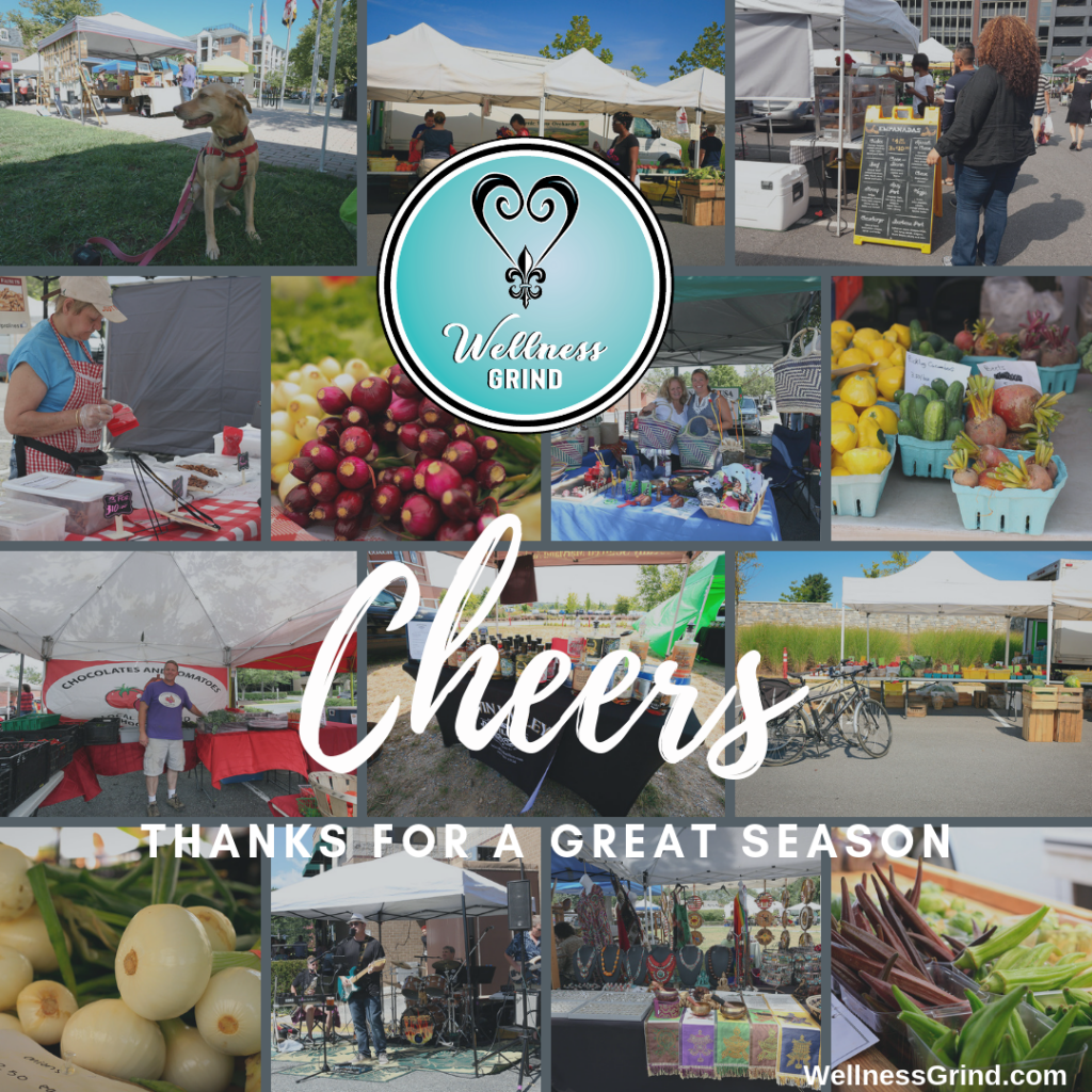 Cheers thanks for a great season MoCo Farmers Markets